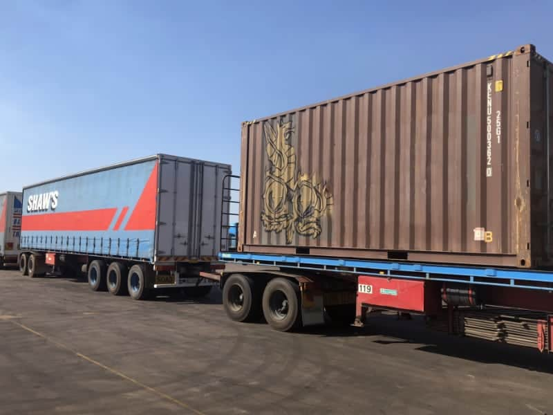 Container Transport Services | Shaw's Darwin