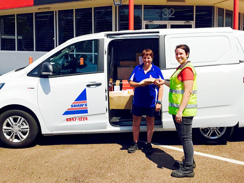 B2B Courier Freight Services - Shaw's Darwin