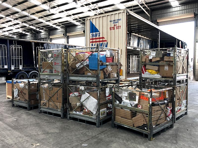 B2B Courier Freight Services - Shaw's Darwin car transport express transport company freight companies