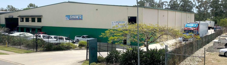 Shaw's Darwin Transport - Brisbane Freight Depot