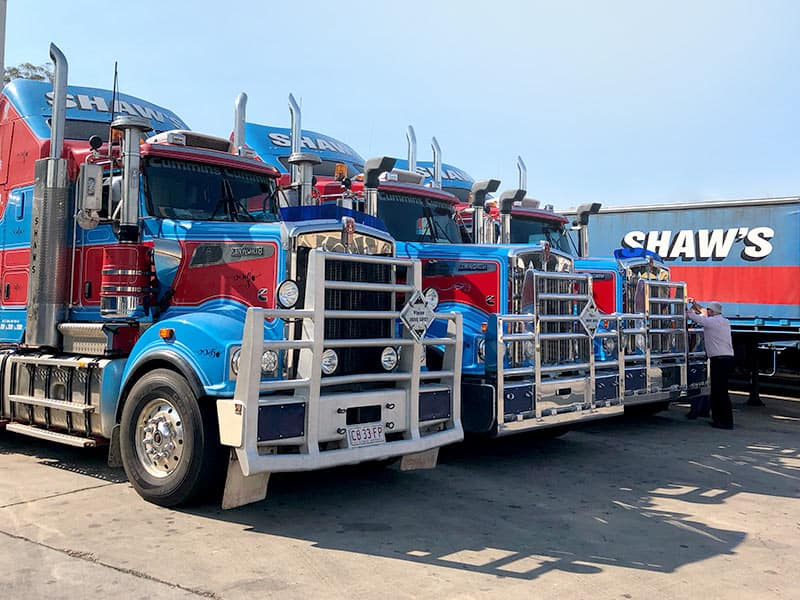 Interstate Freight Services - Shaw's Darwin Transport car transport express transport company freight companies
