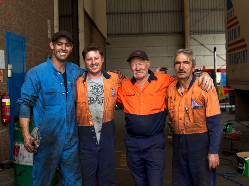 Shaw's Darwin Transport - Truck Mechanic Jobs